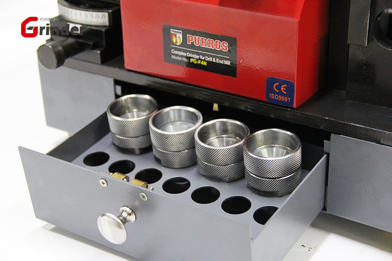 Industrial drill bit sharpener, Complex Grinder of Drill and End Milll, Multi-Purpose Grinder for Mill & Drill, End Mill Sharpening Machine, Drill Bit Grinder, PURROS PG-F4N Multi-Purpose Grinder
